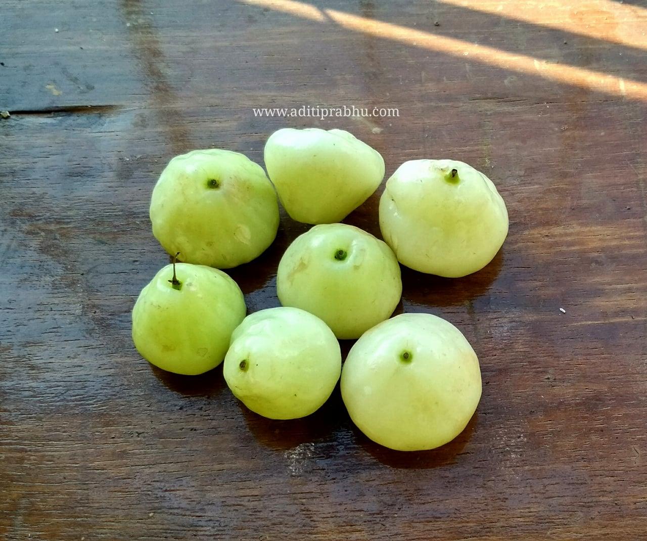 Java apples / Rose apples ( Summer Fruit ) - Nutritionist Aditi Prabhu