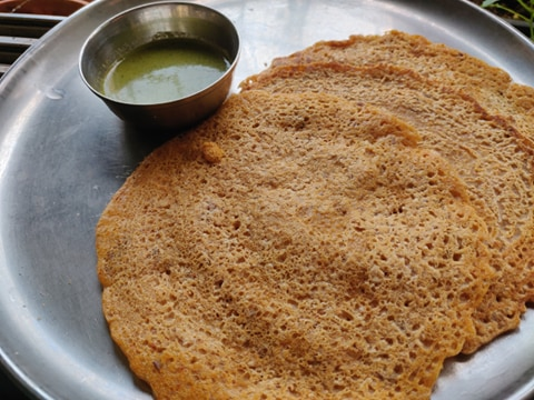 Instant Rolled Oats Dosa