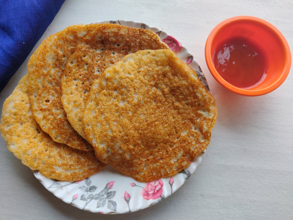 kalingada dosa/Dosa with Watermelon rind