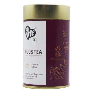 &Me PCOS PCOD Tea (Kashmiri Kahwa Flavor, 100gm)